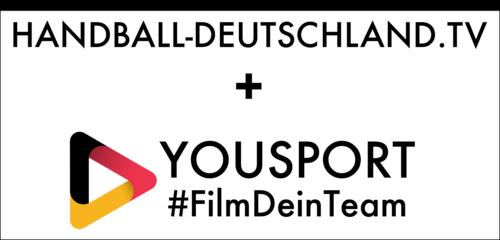 Logo - handball-deutschland.tv & YouSport-App