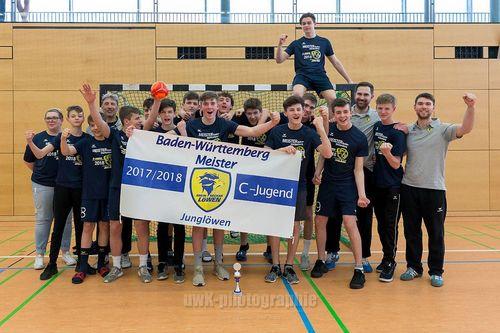 C-Jugend der Junglöwen feiert BW-Pokal