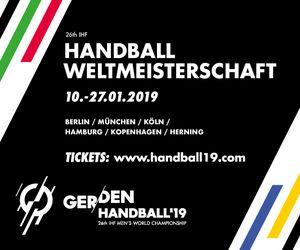 Banner zur Handball WM 2019