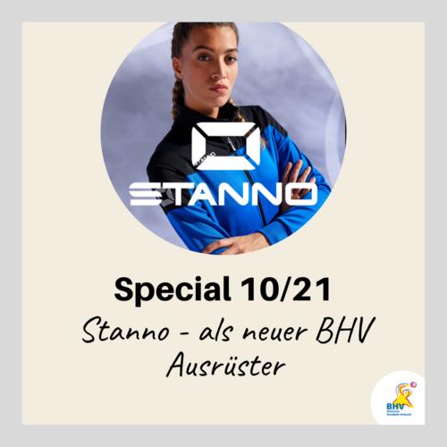 BHV Special 10 - 21 – Neuer Ausrüster des BHV: STANNO