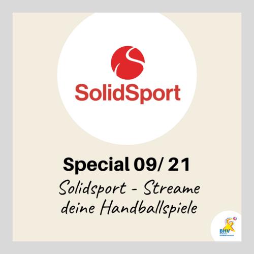 BHV Special 09-21 – Streame deine Handballspiele über Solidsport