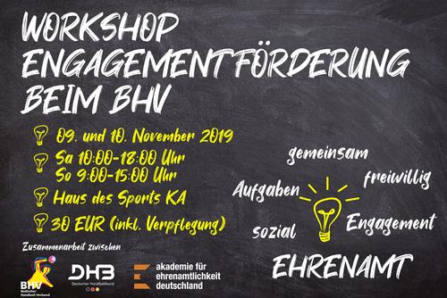 Workshop zum Thema Engagementförderung