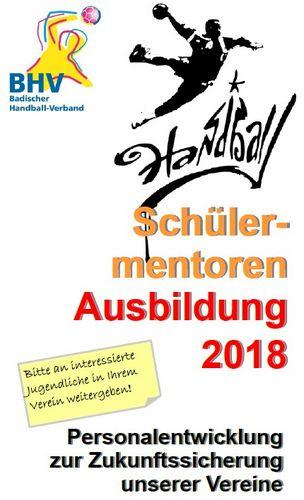 Schülermentorenausbildung 2018 des BHV