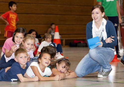 Impression eines Kinder-Schul-Events