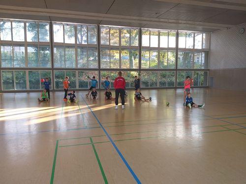 VR-Talentiade: Gewinnerkinder auf der Sportschule Schöneck