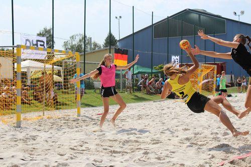 beachhandball plätze turniere mannschaften bei euch lasst
