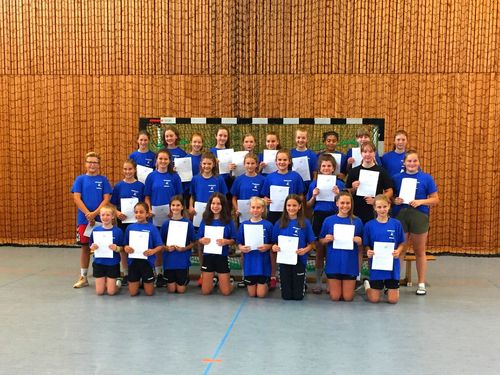 26. BHV-Sichtungscamp der Handballtalente am 14./15.07. 2018 in Heddesheim