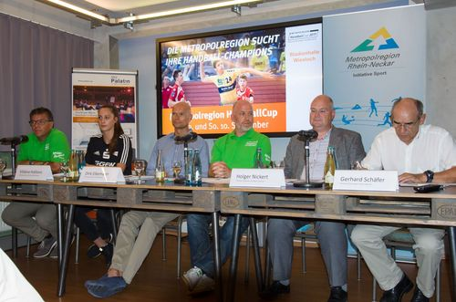 2. Metropolregion HandballCup der B-Jugend am 9. und 10. September in Wiesloch – Pressekonferenz