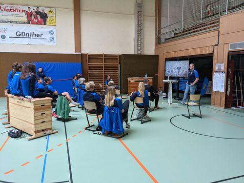 """""""Blau-weißer Faden"""" soll die Jugendarbeit der Handballer weiter verstärken"""