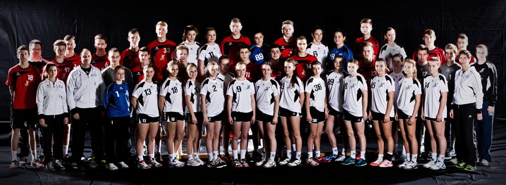 Team Baden m97 & w98 beim Länderpokal 2014